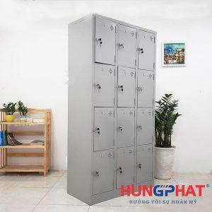 Tủ sắt locker 12 ngăn 3 cột