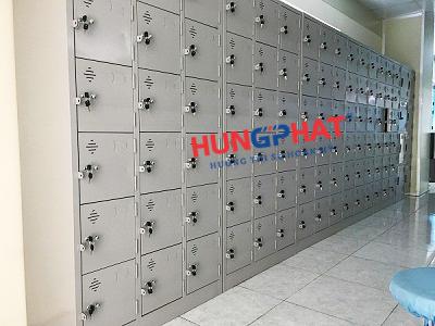 Tủ sắt locker 18 ngăn để đồ cá nhân