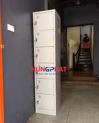Tủ sắt locker 6 ngăn 1 cột 3