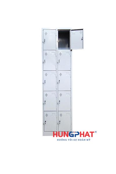 Tủ sắt locker 10 ngăn