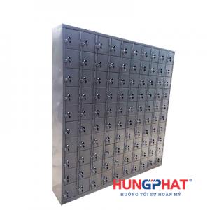 Tủ sắt locker 100 ngăn để điện thoại