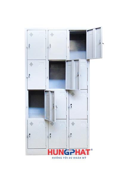Tủ locker 12 ngăn 3 cột