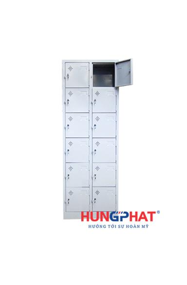 Tủ sắt locker 12 ngăn 2 cột