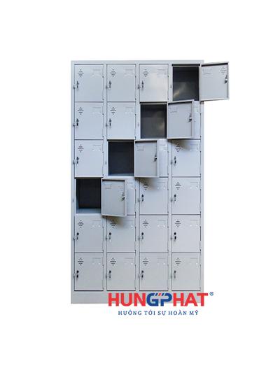 Tủ sắt locker 24 ngăn