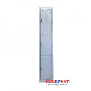 Tủ sắt locker 3 ngăn