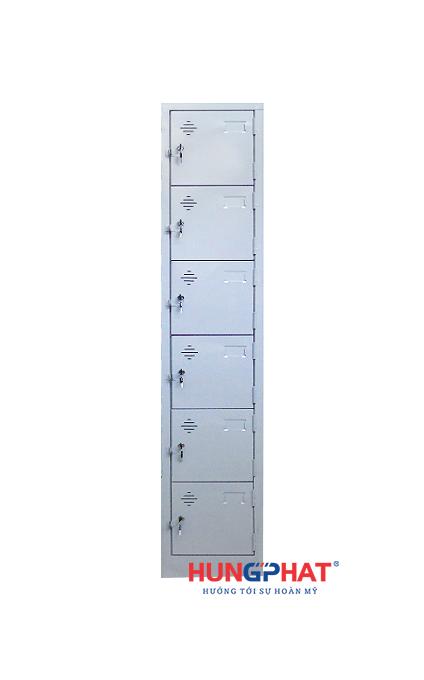 Tủ sắt locker 6 ngăn 1 cột 1