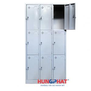 Tủ sắt locker 9 ngăn