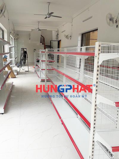 Lắp đặt giá kệ siêu thị tại Đông Trù, Đông Anh, Hà Nội 4