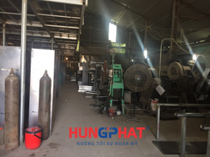 Xưởng sản xuất tủ sắt tại Hà Nội