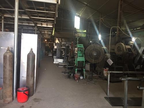 Xưởng sản xuất tủ sắt tại Hà Nội 2