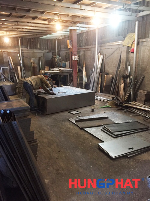 Xưởng sản xuất tủ sắt tại Hà Nội 5