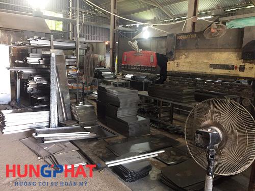 Xưởng sản xuất tủ sắt tại Hà Nội 1