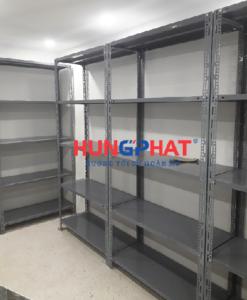 Kệ kho chứa hàng lắp đặt tại 35 Hàng Bông