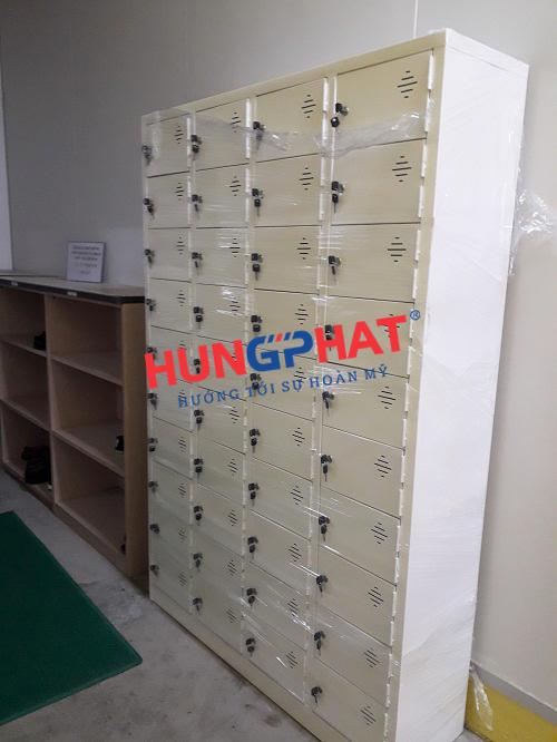 Tủ locker 40 ngăn tại KCN Visip Bắc Ninh 2