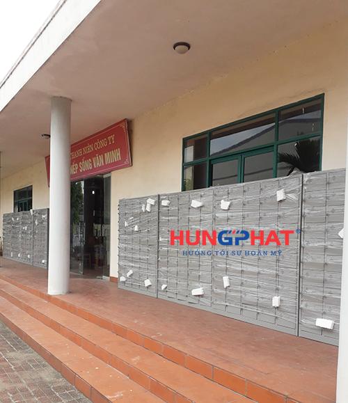 Tủ locker 50 ngăn để điện thoại tại KCN Khắc Niệm, Bắc Ninh 3