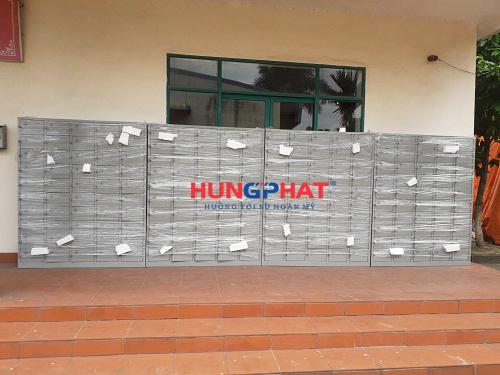 Tủ locker 50 ngăn để điện thoại tại KCN Khắc Niệm, Bắc Ninh 2