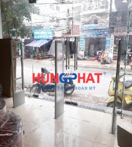 Lắp đặt cổng từ an ninh EG1122 tại số 3 ngõ 158 Nguyễn Sơn, Long Biên, Hà Nội