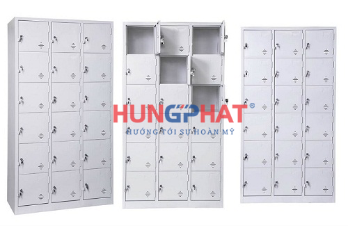 Một số loại tủ locker thường dùng cho khu công nghiệp