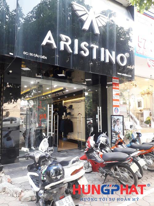 Phân phối cổng từ EG 8258 tại shop thời trang Aristino, 55 Cầu Diễn 1
