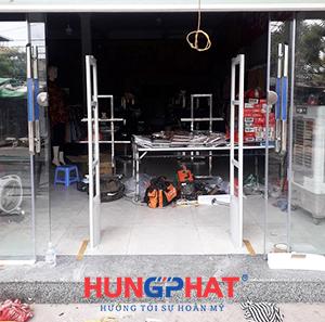 Lắp cổng từ an ninh s2028 tại KCN Quế Võ 1, Bắc Ninh