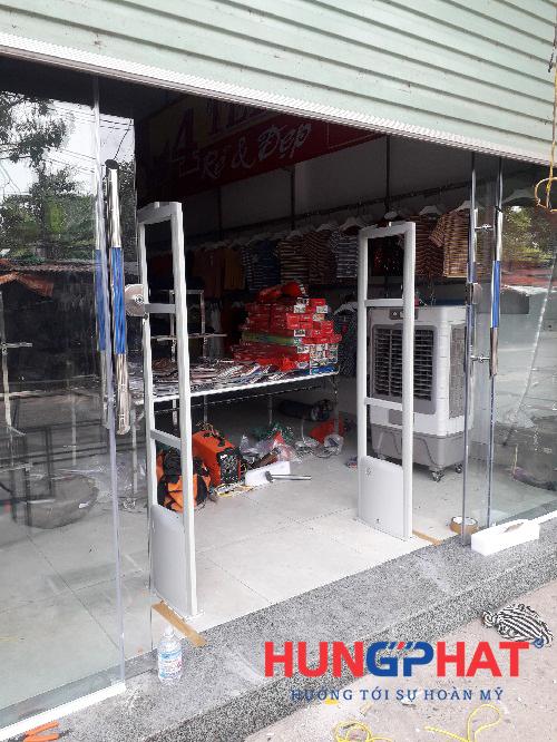 Lắp cổng từ an ninh s2028 tại KCN Quế Võ 1, Bắc Ninh 1
