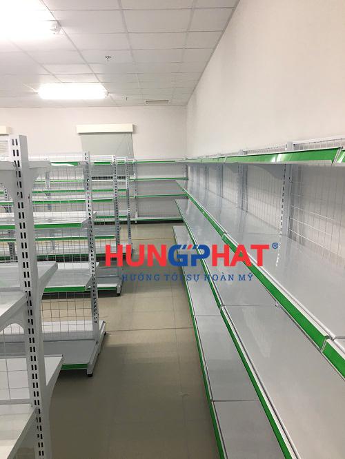 Lắp đặt giá kệ siêu thị tại KCN Thăng Long II, Phố Nối, Hưng Yên 3