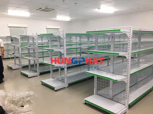 Lắp đặt giá kệ siêu thị tại KCN Thăng Long II, Phố Nối, Hưng Yên 1