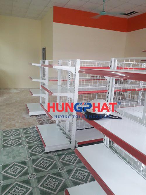 Lắp đặt 21 bộ kệ siêu thị tại căng tin trường đại học Phennika, Yên Lộ, Hà Đông 2