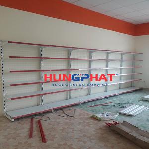 Lắp đặt 21 bộ kệ siêu thị tại căng tin trường đại học Phennika, Yên Lộ, Hà Đông