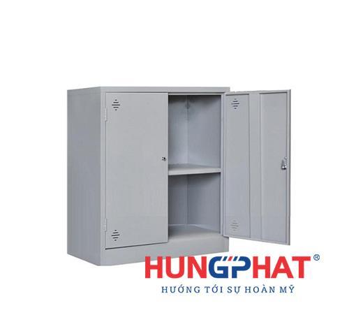Tủ sắt văn phòng K2 cánh sắt thấp