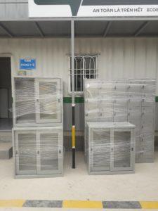 Bàn giao 8 tủ sắt cho công trình Ecobar tại 1152 đường Láng