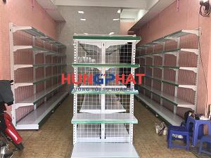 Lắp đặt kệ siêu thị tại 75 Định Công, Hoàng Mai, Hà Nội
