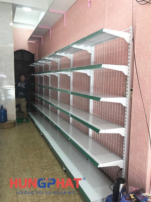 Lắp đặt kệ siêu thị tại 75 Định Công, Hoàng Mai, Hà Nội 3