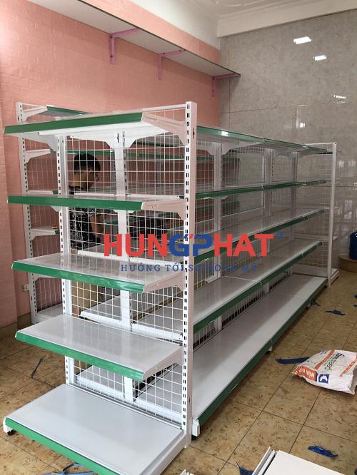 Lắp đặt kệ siêu thị tại 75 Định Công, Hoàng Mai, Hà Nội 4