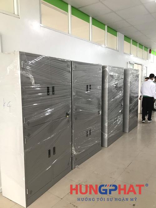 Phân phối tủ sắt K4 tại trung tâm tiếng Nhật - Đại học Thăng Long 3