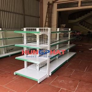 Lắp 9 bộ kệ siêu thị tại CHỢ SO, Tân Hòa, Quốc Oai, Hà Nội
