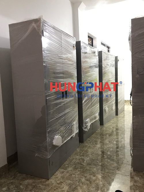 Cung cấp 11 tủ sắt quần áo tại chung cư mini Thi Thương Tân Triều, Hà Nội 1