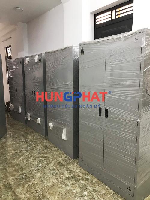 Cung cấp 11 tủ sắt quần áo tại chung cư mini Thi Thương Tân Triều, Hà Nội 3