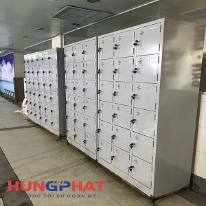 Phân phối 4 tủ locker 18 ngăn tại bể bơi Fafilm tại 19 Nguyễn Trãi
