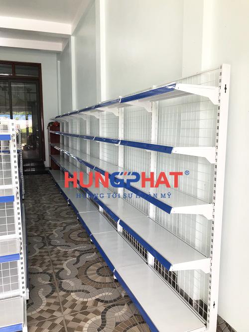 Lắp đặt 32 bộ kệ siêu thị tại Thanh Miện Hải Dương 2