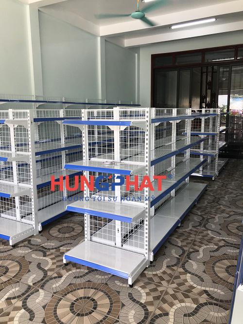 Lắp đặt 32 bộ kệ siêu thị tại Thanh Miện Hải Dương 3