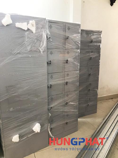 Nhận đơn hàng phân phối tủ locker 10 ngăn tại 219 Trần Quốc Hoàn 1