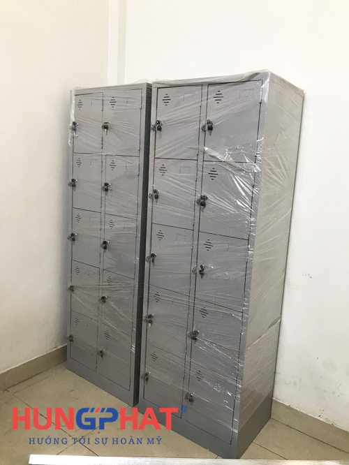Nhận đơn hàng phân phối tủ locker 10 ngăn tại 219 Trần Quốc Hoàn 2