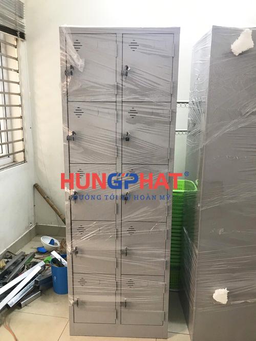 Nhận đơn hàng phân phối tủ locker 10 ngăn tại 219 Trần Quốc Hoàn 3