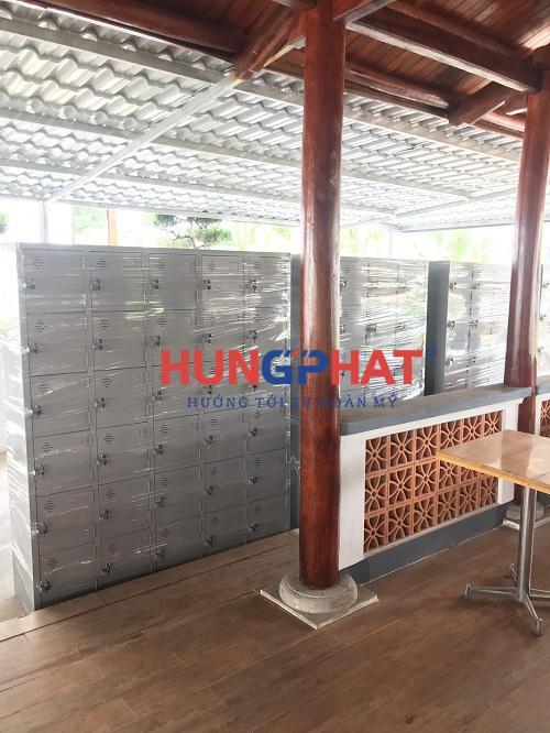 Phân phối tủ locker 30 ngăn và 24 ngăn tại khu sinh thái An Bình 3