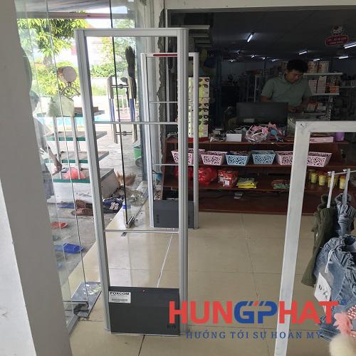 Lắp đặt 1 bộ cổng từ an ninh EAS5008 tại Nghi Xuân , Hà Tĩnh4