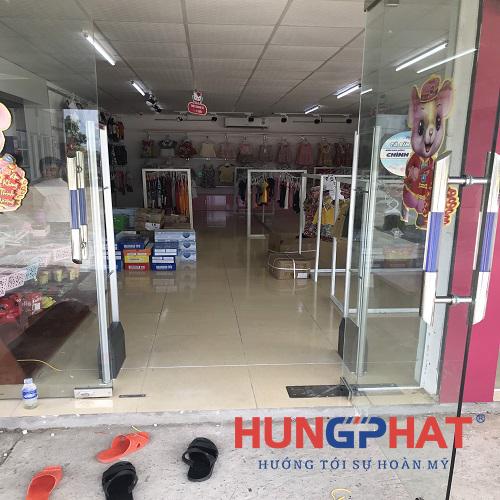 Lắp đặt 1 bộ cổng từ an ninh EAS5008 tại Nghi Xuân , Hà Tĩnh3
