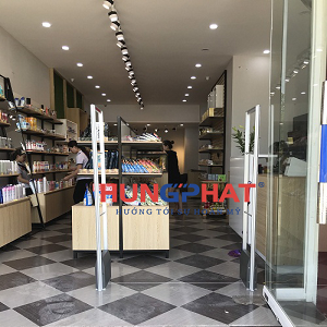 Lắp đặt cổng từ an ninh EAS5008 tại cửa hàng Hinoya 39 Hồ Tùng Mậu
