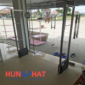 Lắp đặt 1 bộ cổng từ  an ninh EAS5008 tại Nghi Xuân, Hà Tĩnh