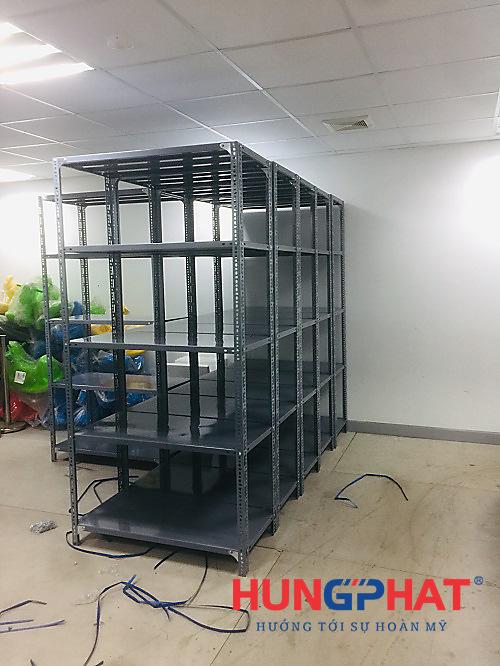 lắp đặt kệ kho D1000 x S500x C2000 x 5 sàn tại Vacxin Thanh Hóa3